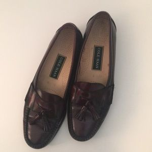 Cole Haan Men's 11B Tassel Leather Loafers